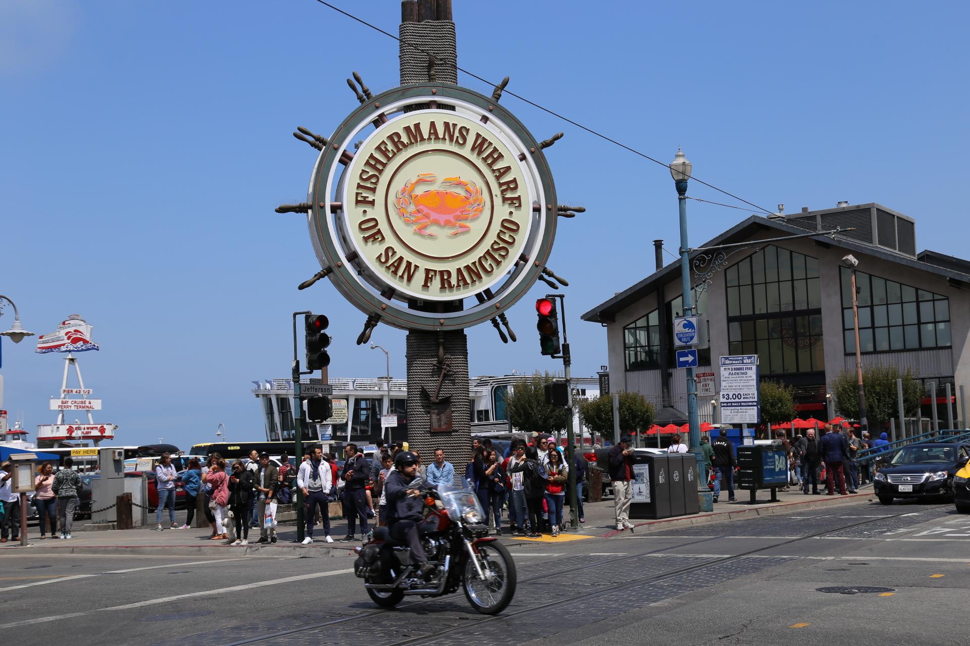 アメリカツーリング2017 ハーレーで行く絶景西海岸 Day1サンフランシスコ