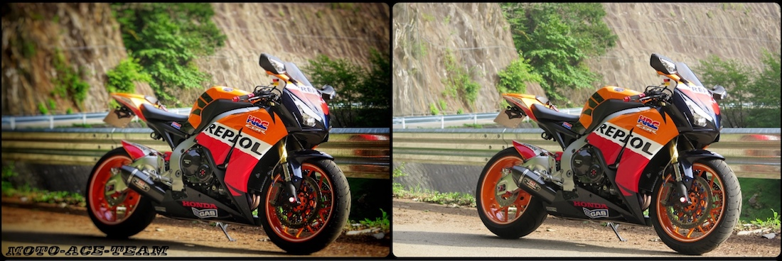 バイク写真をカッコ良く編集!!  無料アプリ「Snapseed」の使い方