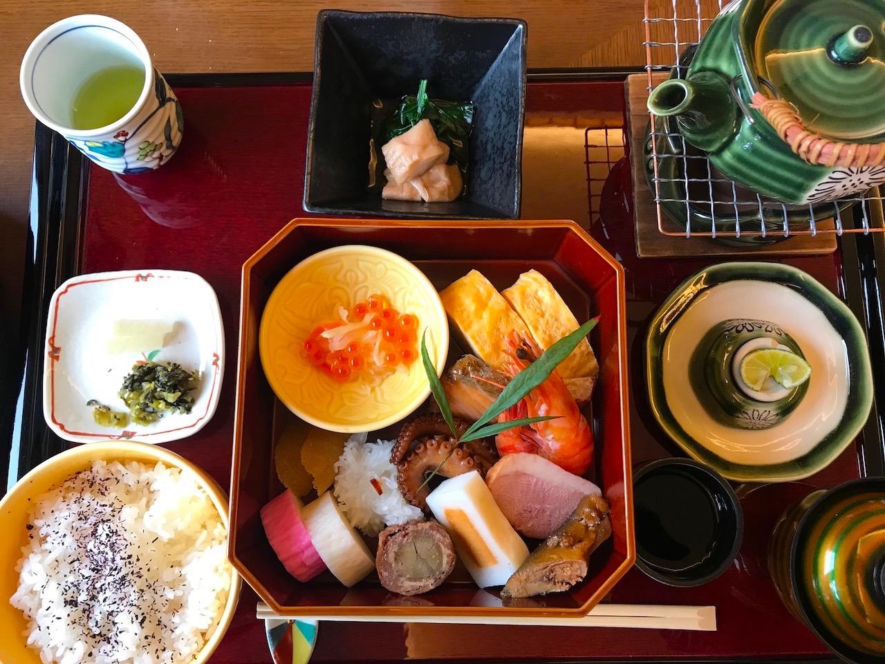 近江八幡の京料理、宮前のランチ