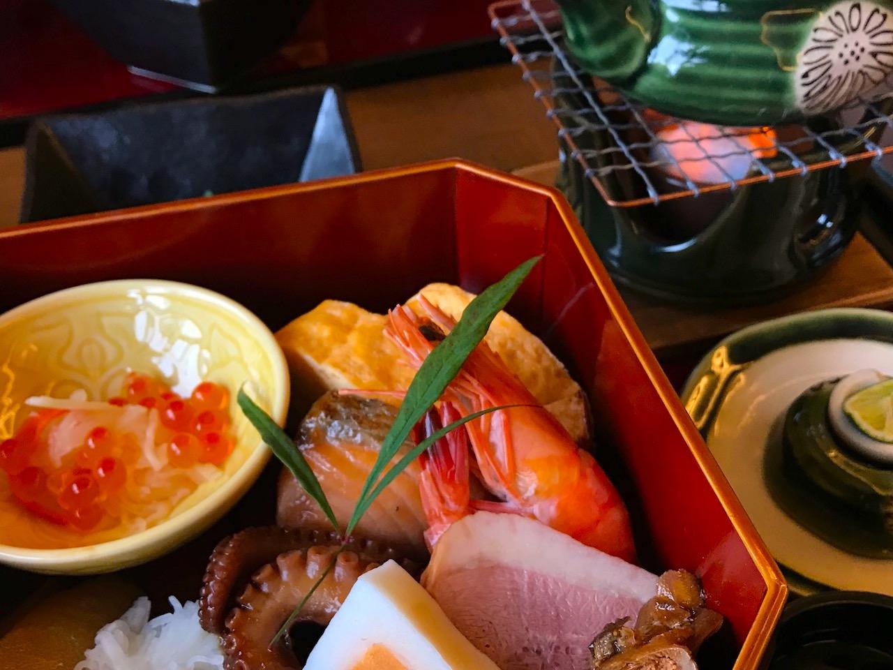 近江八幡の京料理「宮前」のランチ湖水