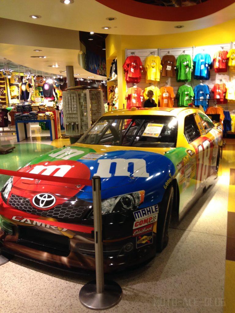 M&M'Sのレーシングカー