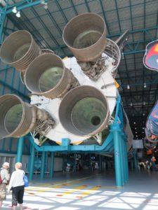 アポロ5の噴射口
