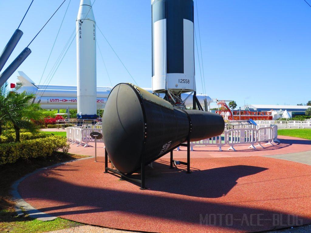 ケネディ宇宙センターのロケットガーデン2