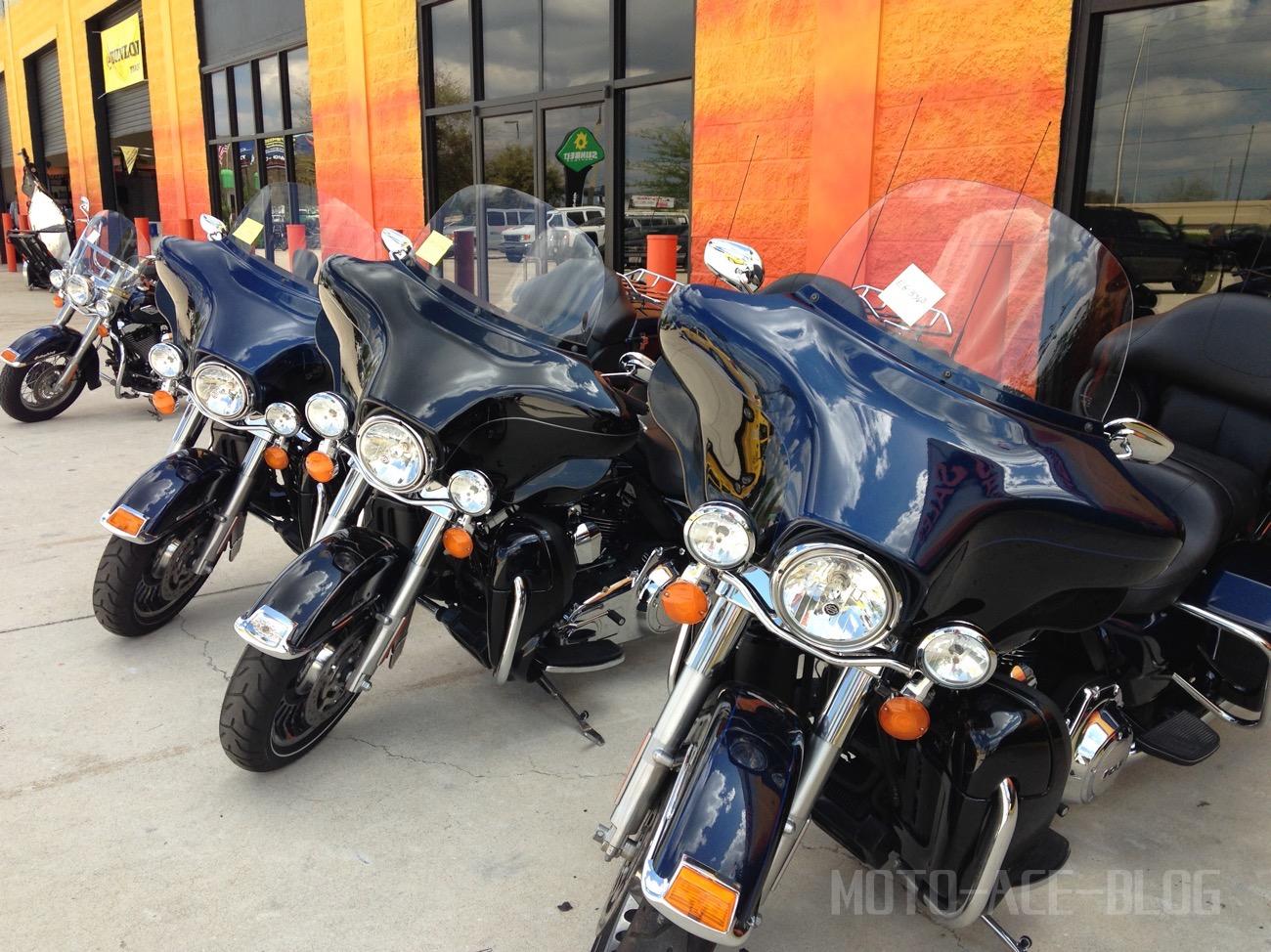 バイクでアメリカ横断3|ハーレーをレンタルしてメンバーと初顔合わせ