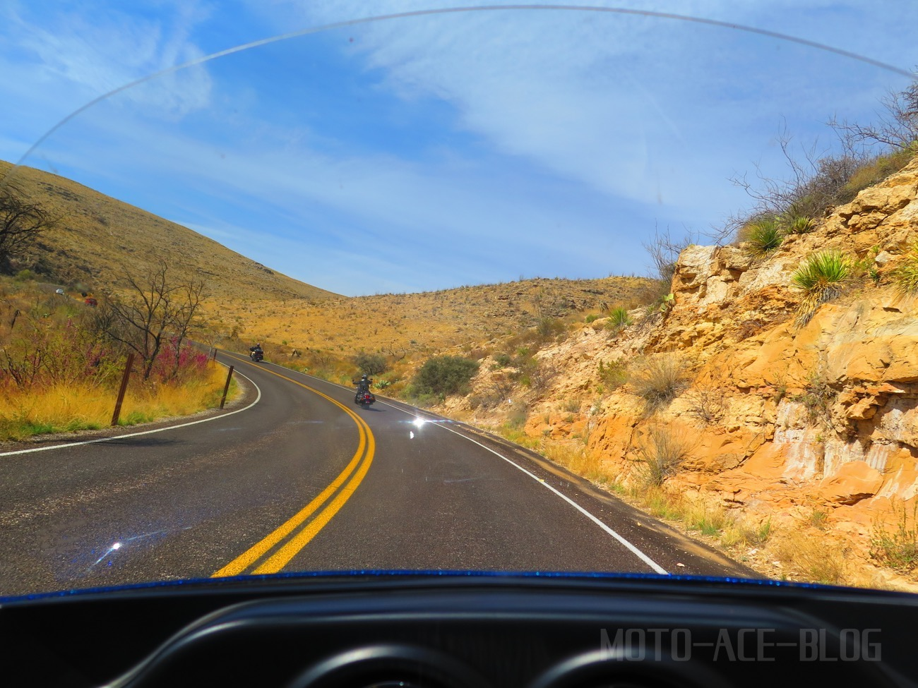 ハーレーでニューメキシコ州を駆ける