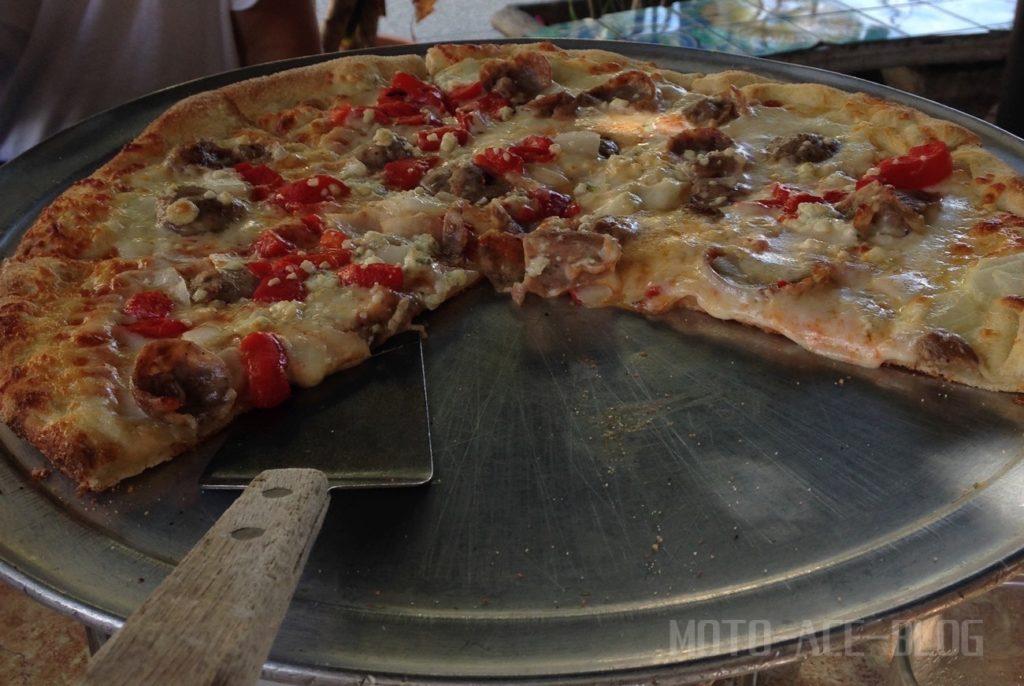 マイアミのカフェ&ピザ