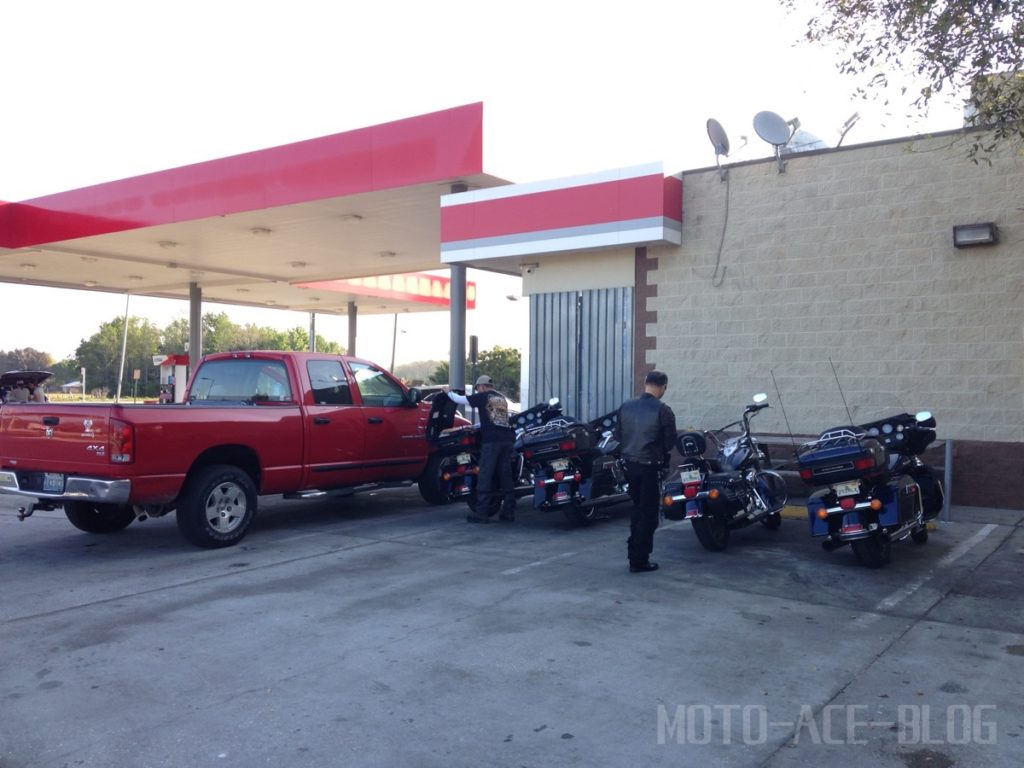 フロリダでガソリン給油