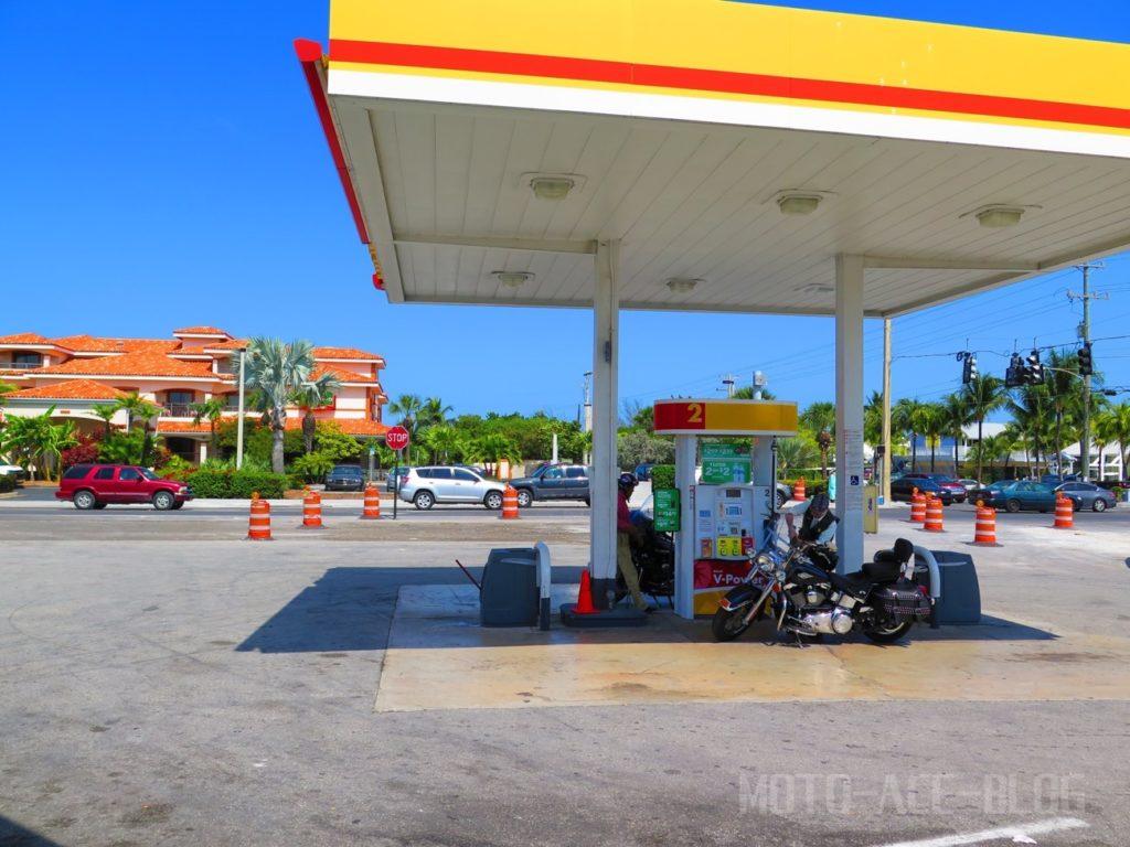 キーウェストのガソリンスタンド