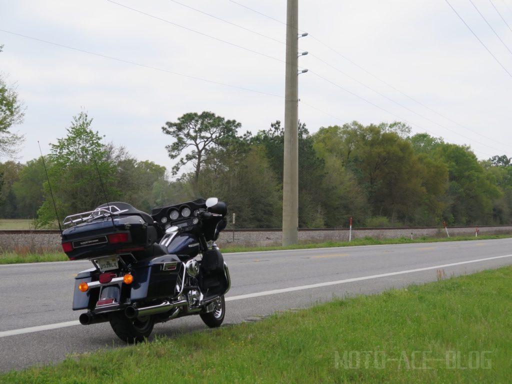 フロリダ州の90号線をツーリング