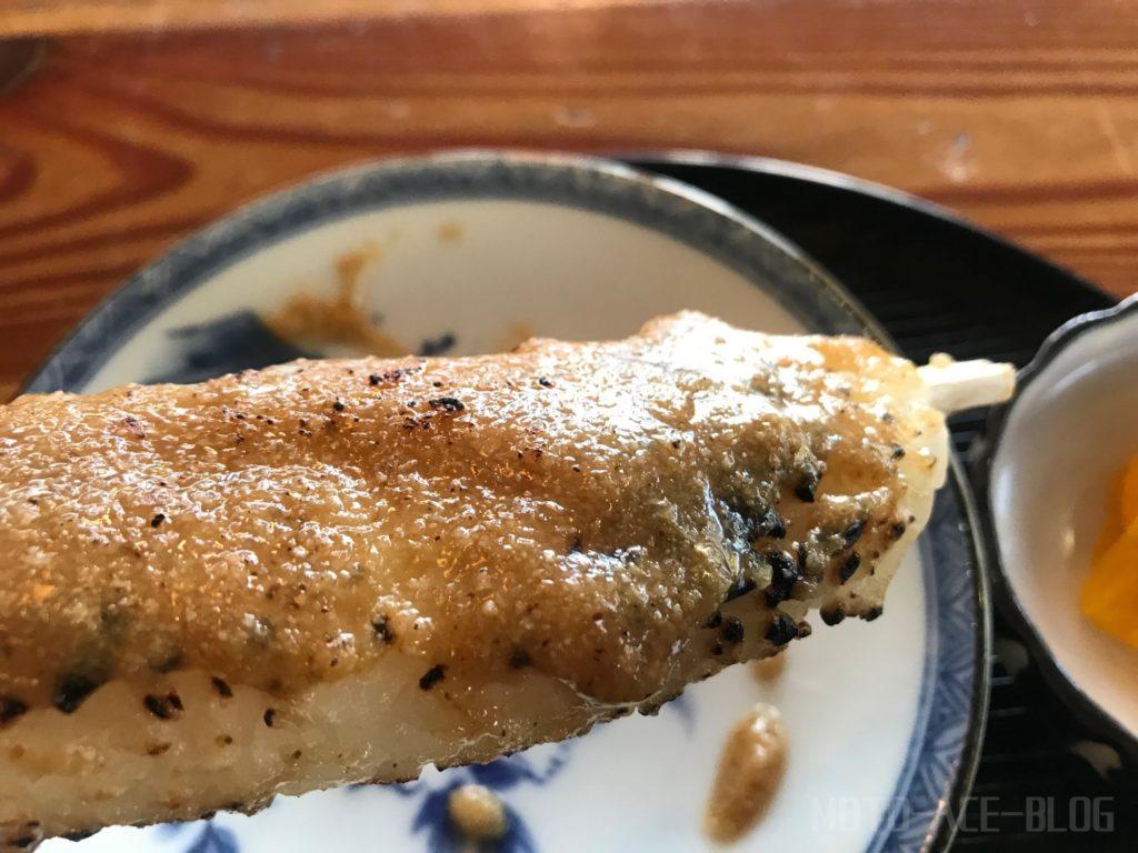 道の駅信州平谷の胡麻味噌五平餅!!