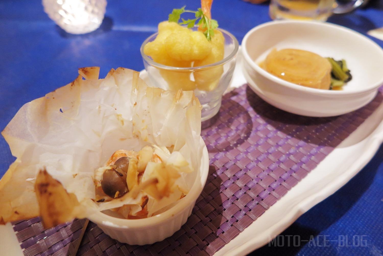 ドーミー倶楽部軽井沢のディナー