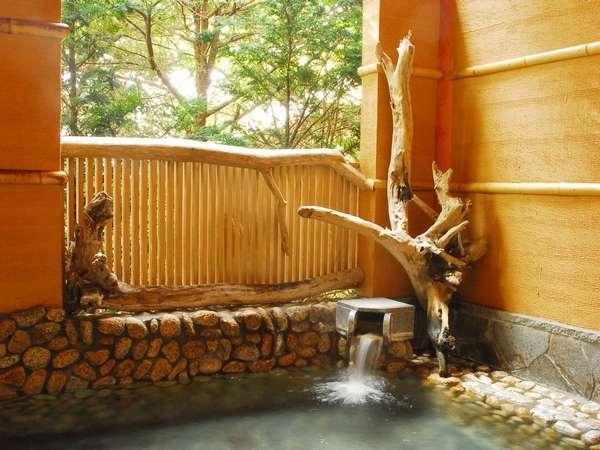 ドーミー倶楽部軽井沢の露天風呂