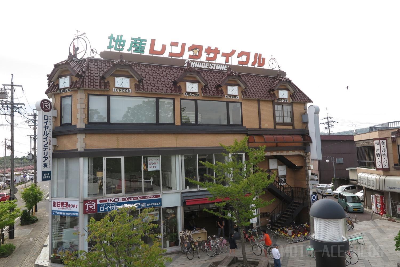 軽井沢駅北口のレンタルちゃり