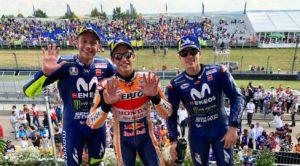 MotoGP Rd9ザクセンリンク表彰台