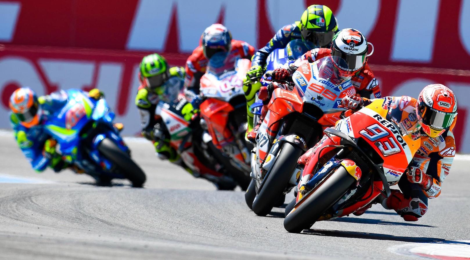 MotoGP2018 Rd.8オランダGPダッジTTレース結果