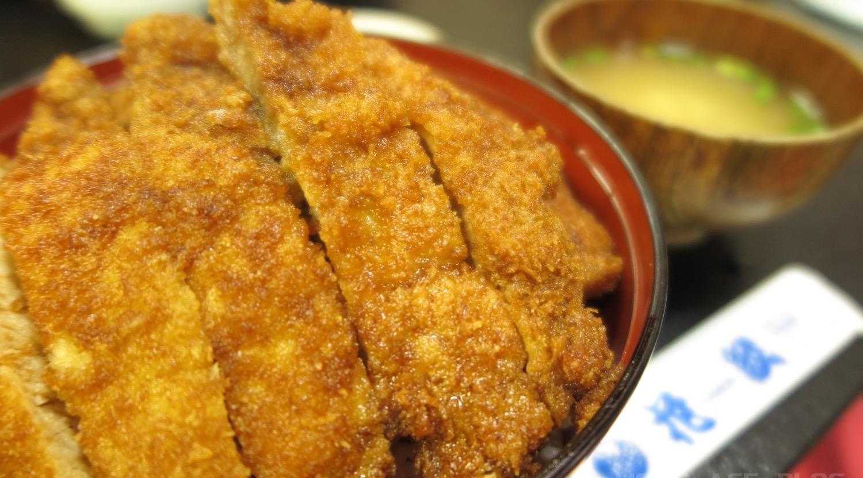 伊那市 家紋のソースカツ丼