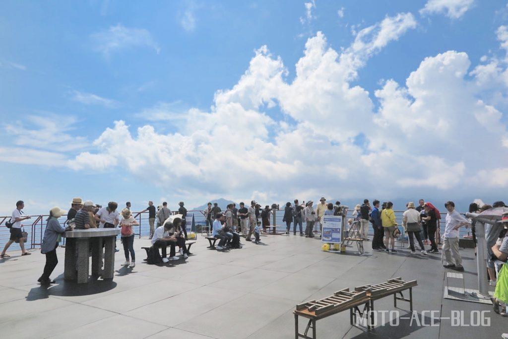 新穂高ロープウェイの展望台絶景