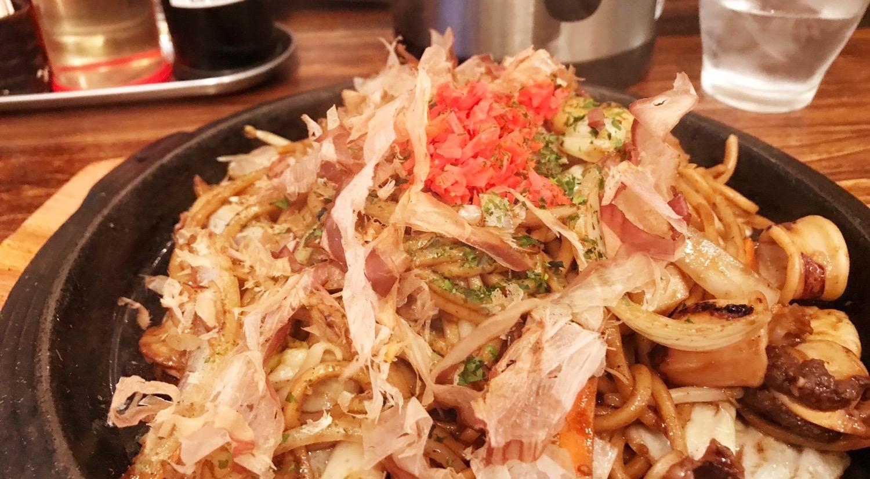 焼きそばが美味しいまるしょうでアツアツを二人前食べてきた件|文京区本郷