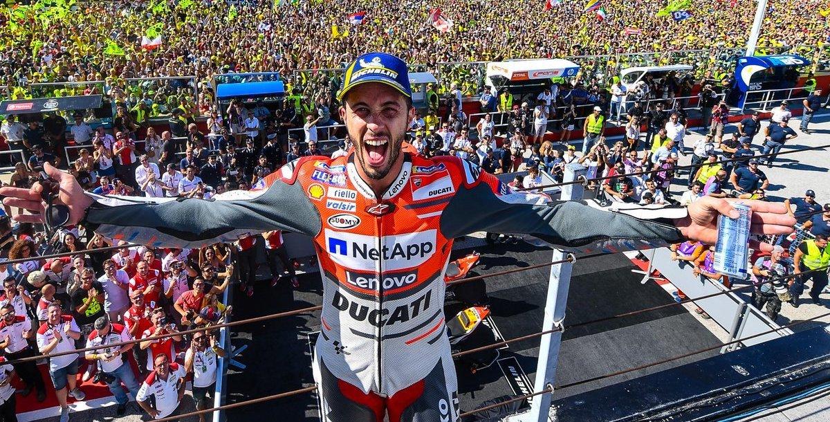 MotoGP Rd.13サンマリノ表彰台