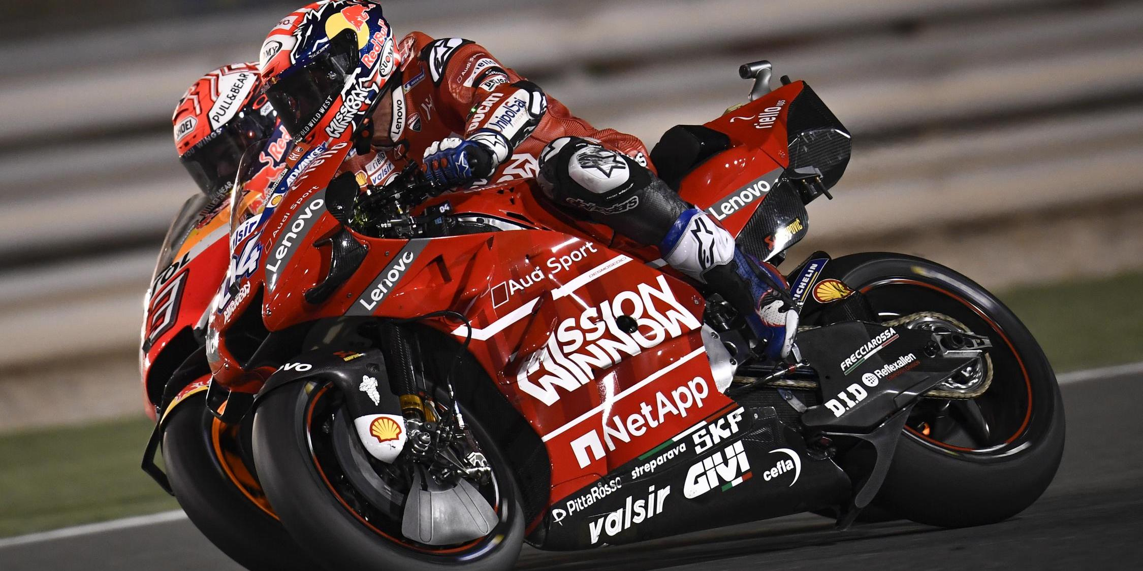 MotoGP2019 Rd.1カタールGPロサイルレース結果|DUCATI遅くなっていた!!