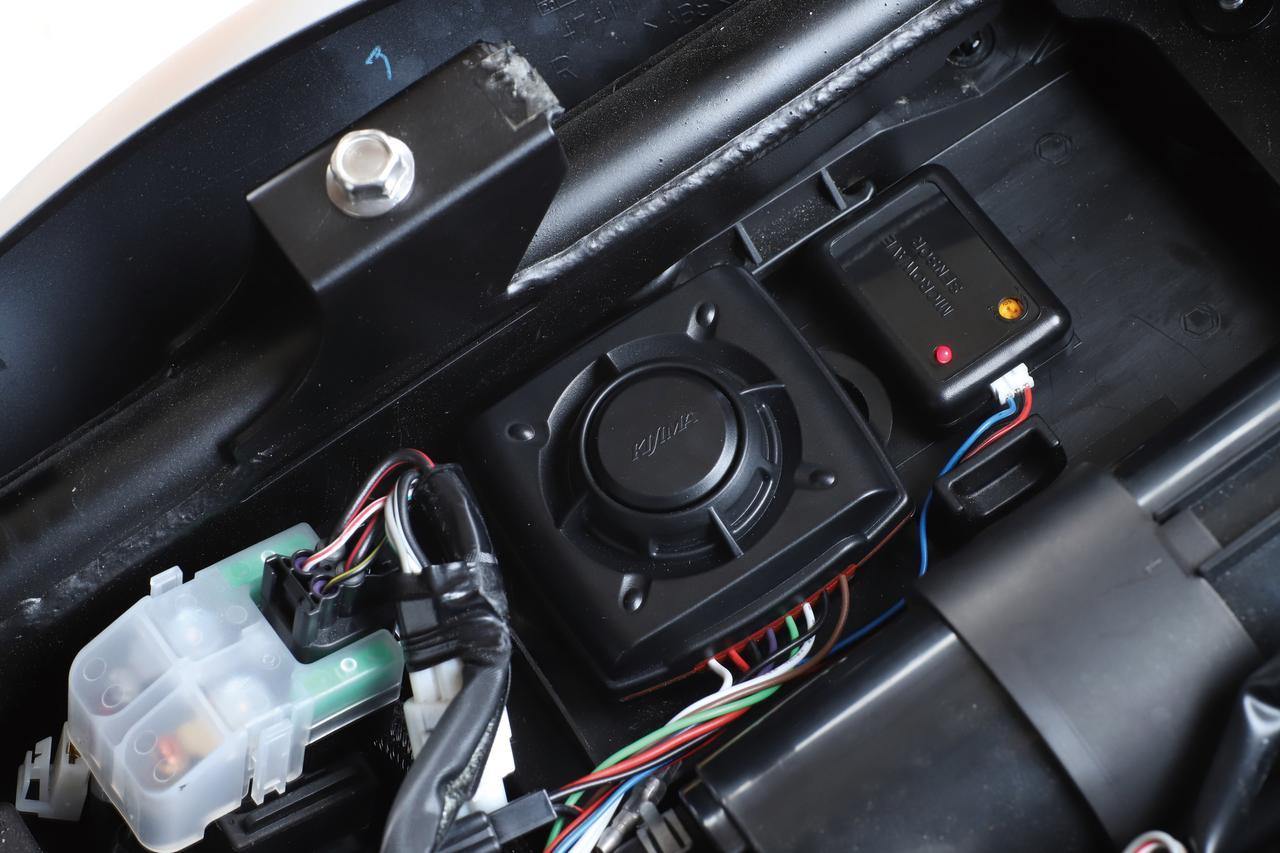 原付の盗難防止に効くサイクルアラームコンバット5