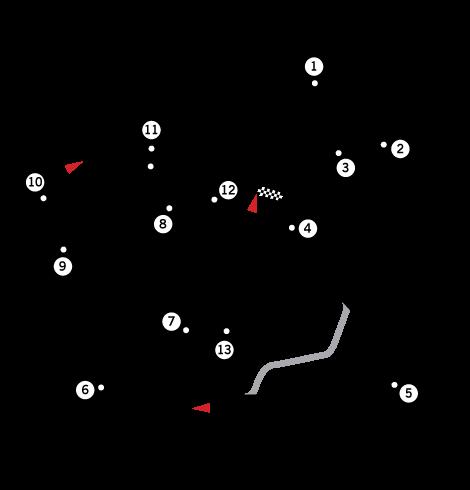 へレスサーキットコース図