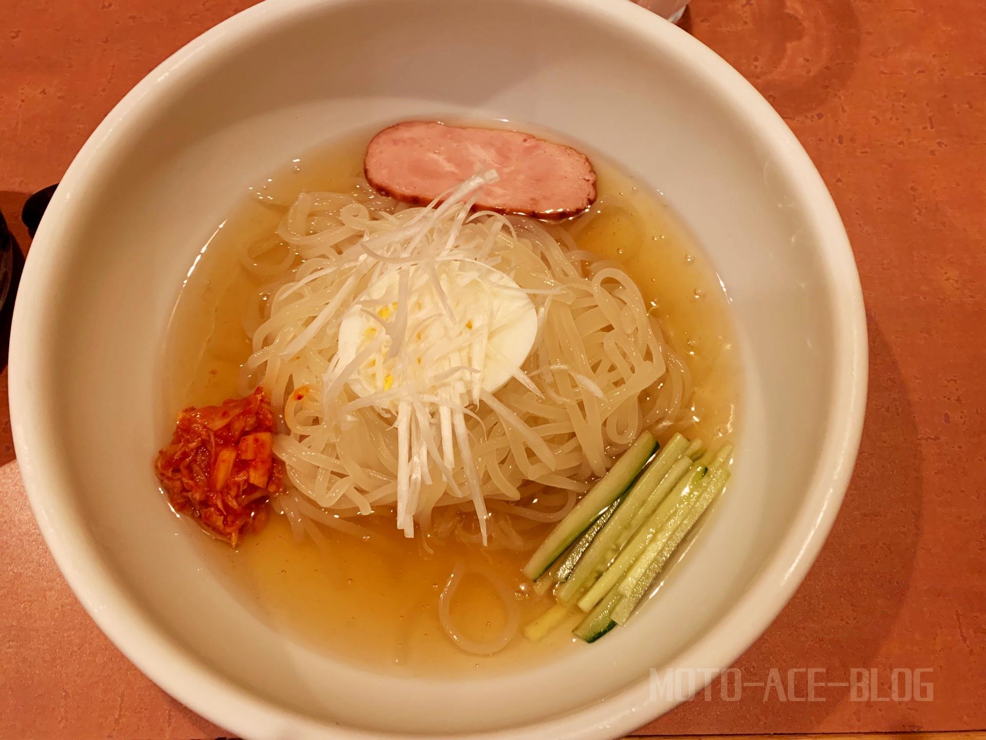豊橋 嵐山の冷麺