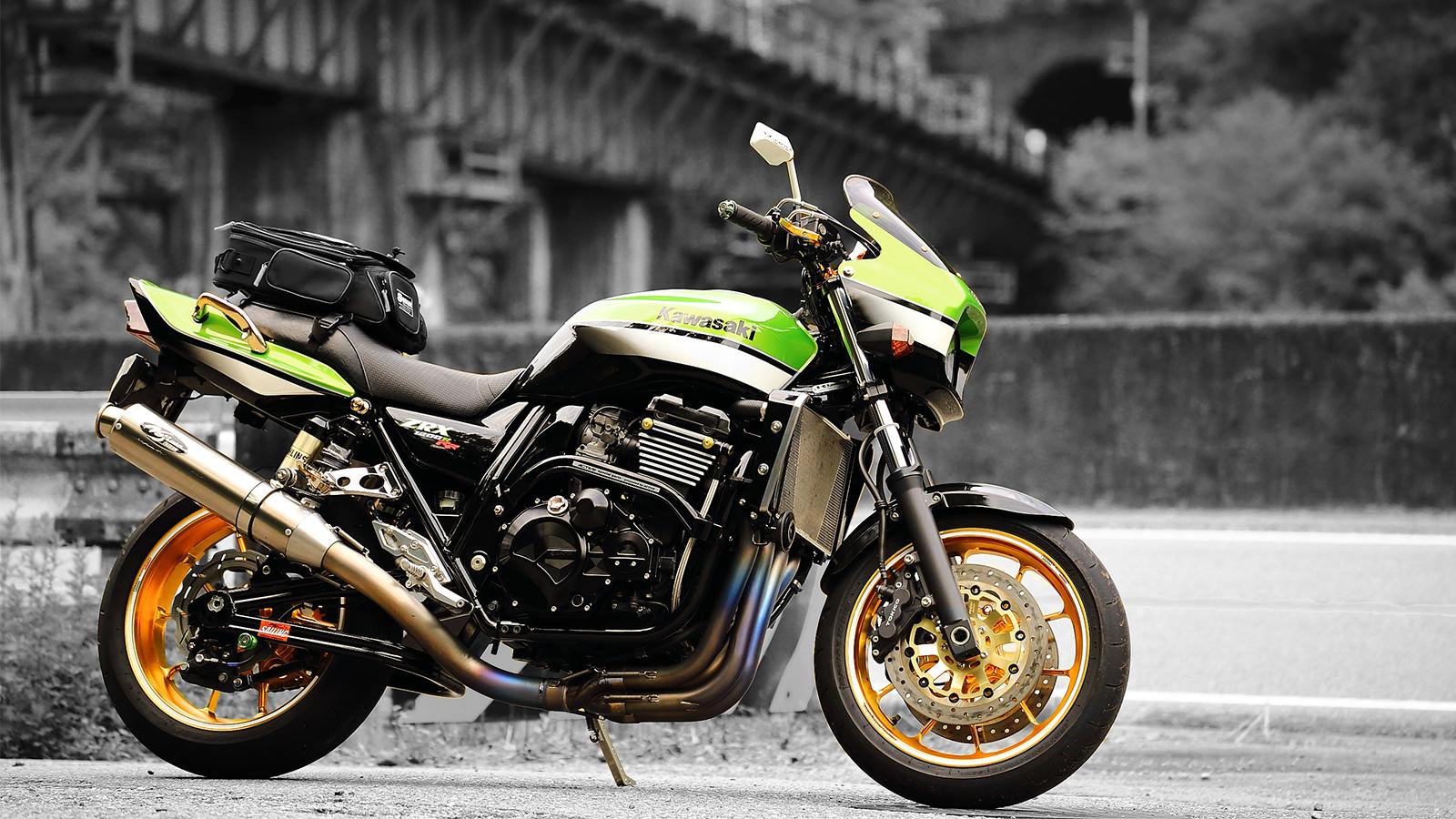 ZRX1200Rフルカスタムバイク