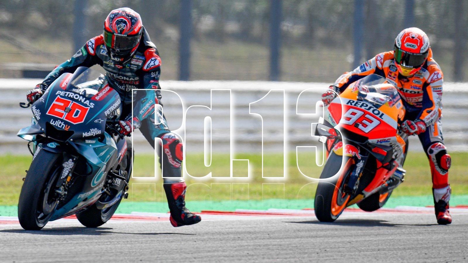MotoGP2019Rd13ミサノレース結果